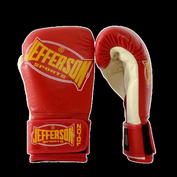 Jefferson-PRO-Boxhandschuhe-rot