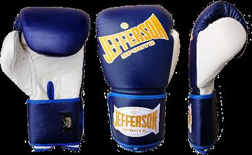 Jefferson Pro Boxhandschuhe blau