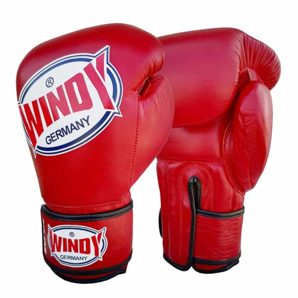 Jefferson Sports_Windy Boxhandschuhe_rot