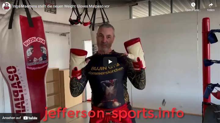 Ingo Maertens stellt die neuen Weight Gloves Malpaso vor