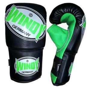 Jefferson Sports_Windy Punch Gloves_Schwarz-Grün