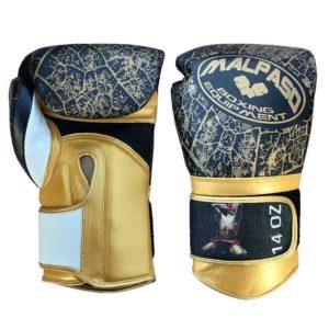 Jefferson Sports_Malpaso Guerrero Boxhandschuhe_schwarz-gold